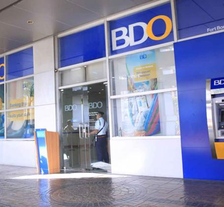 savings account in BDO