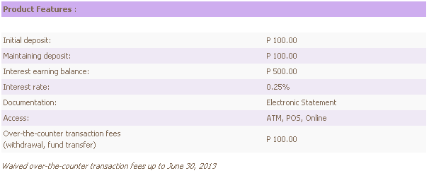 eastwest bank basic savings account