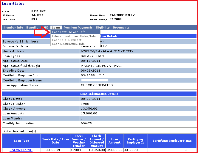 Check SSS contributions and loans using Text-SSS - TxtBuff