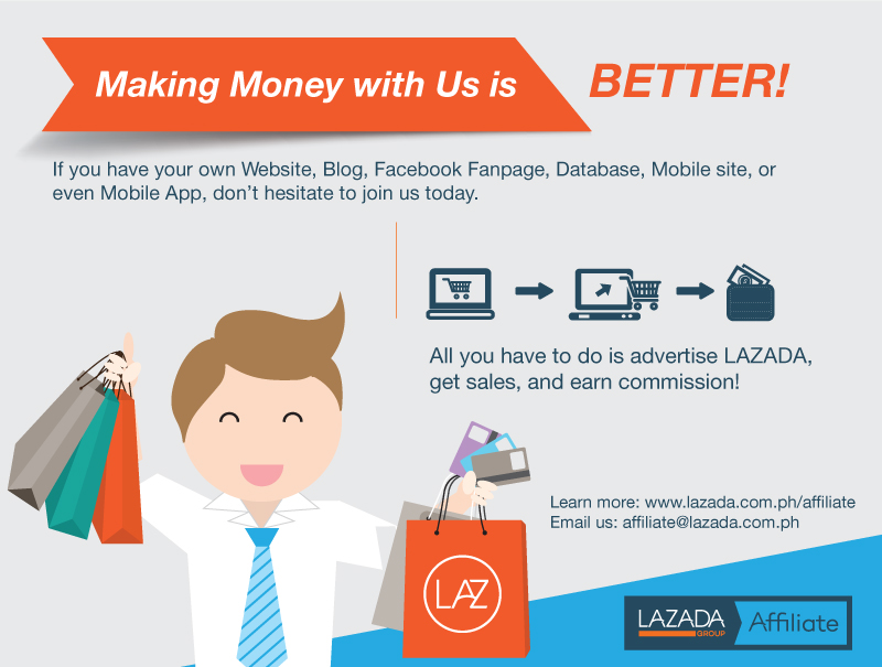 How to become lazada affiliate