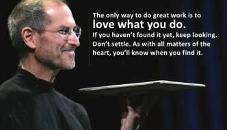 3 Inspirational lessons from Steve Jobs' commencement speech