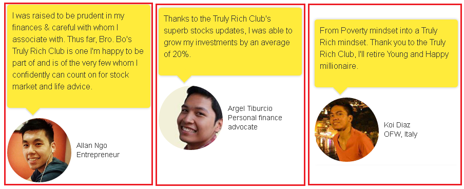 Truly Rich Club feedback
